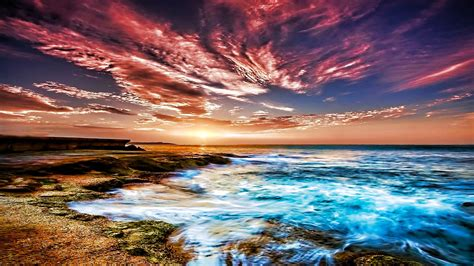 colorful sky on the wallpaper 4730