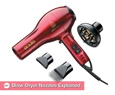 Hair Dryer Not Blowing Air what do the different attachments on hair dryers do popsugar