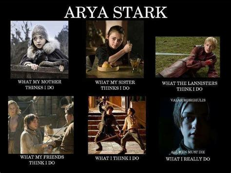 Arya Meme - pin by timothy riach on game of thrones pinterest