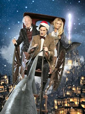 tv lover: doctor who a christmas carol promotional pictures