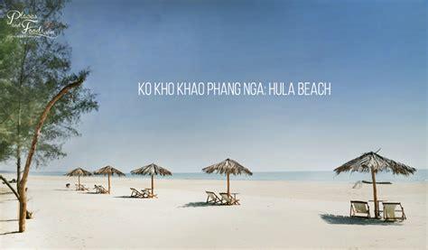 ko kho khao phang nga hula beach