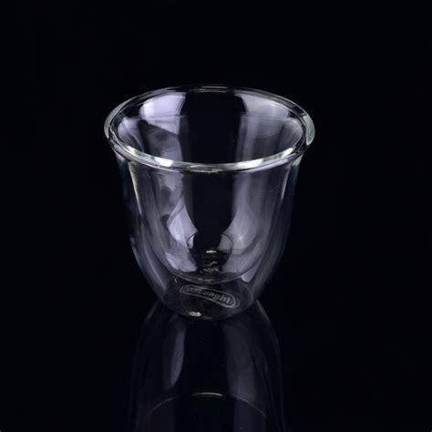 borosilicate glass walled borosilicate glass tea cup borosilicate