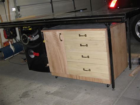 table saw cabinet workshop table saw storage cabinet buildsomething