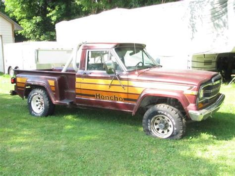 jeep honcho stepside purchase used 1980 jeep honcho j10 stepside 4x4