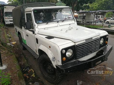 land rover defender 1997 300tdi 2 5 in penang manual pickup truck white for rm 42 000 4103288