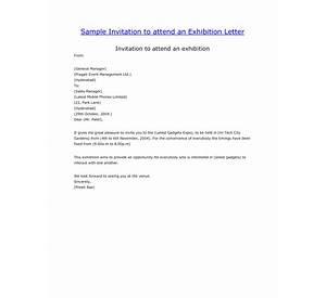 68 invitation letter sample exhibition sample resume headline sample invitation to attend an exhibition letter stopboris Gallery
