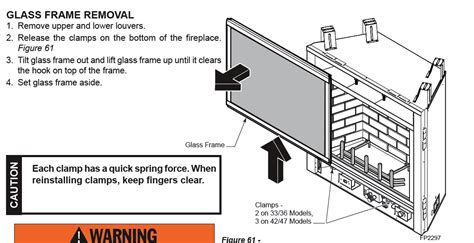 How To Remove Glass From Gas Fireplace by I A Majestic Gas Fireplace Insert That I Want To