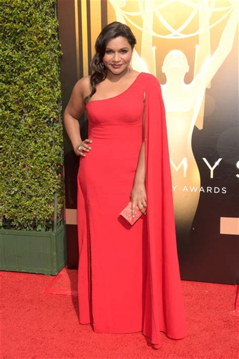 mindy kaling emmy best of the creative arts emmys red carpet tv ate my