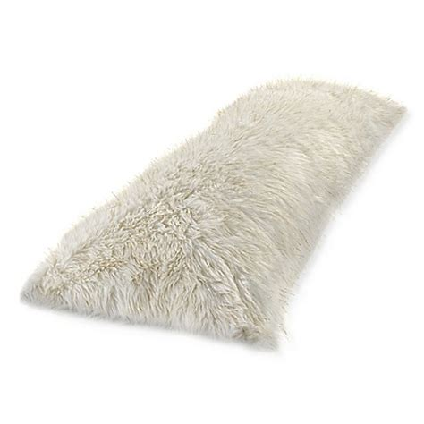 bed faux fur husband pillow kids backrest pillow with arms furry metallic faux fur body pillow cover in white gold bed
