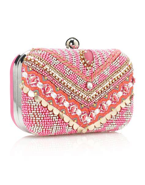Pink Clutch accessory alert pink clutch bag whatshewears ie