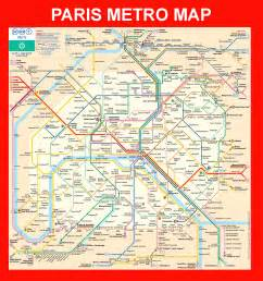 Paris Metro Map English by Paris Metro Map Paris Underground Map Paris Subway Map