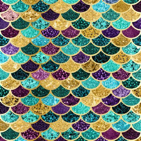 mermaid scales background glitter mermaid scales digital paper