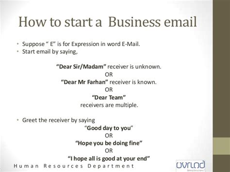 How To Start A Business Email Importance Of Communication In Business