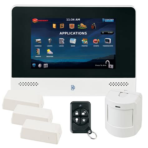 interlogix advisorone wireless security system kit