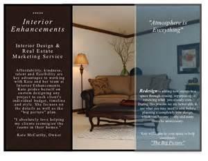 brochure interior design interior enhancements inc design brochure