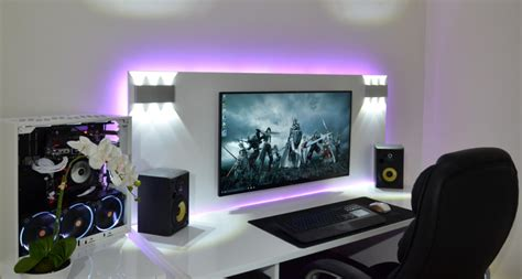 cool home office setups 22 amazing desk setups and how to make your own sneakhype