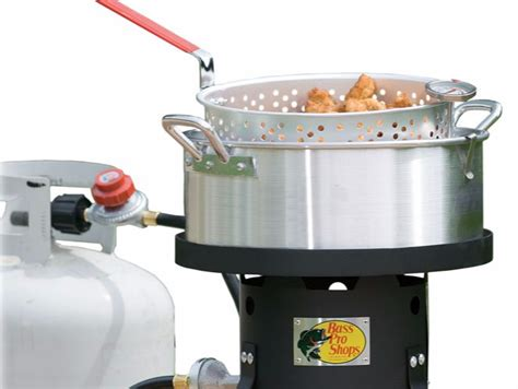 10 Quart Aluminum Fryer Pot - save 40 aluminum fish fryer w 10 5 quart pot on tripod