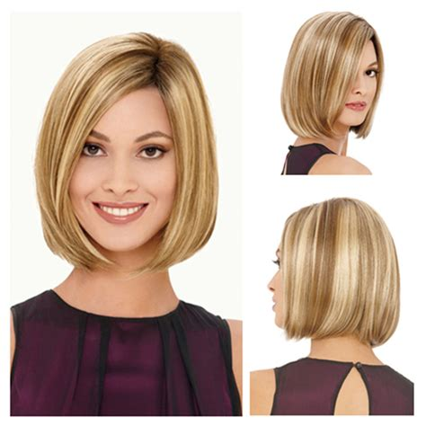 new 670 1 bangs in hair aliexpress com buy fashion new ladies blond short