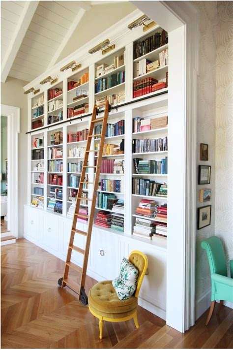 Bookcase With Library Ladder Library Bookcases With Ladders Tidbits Twine