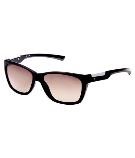 fila black frame plastic wayfarer sunglasses buy fila