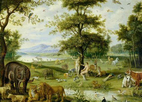 adam and eve in the garden of eden c 1600 jan brueghel