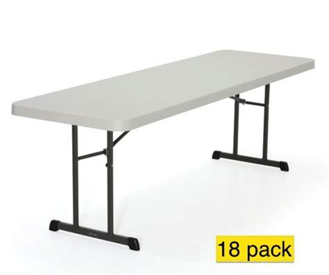 folding 8 table lifetime professional grade almond 8 plastic folding