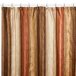 Copper Colored Curtains Buy Manor Hill 174 Copper 72 Inch X 84 Inch Fabric Shower Curtain From Bed Bath Beyond