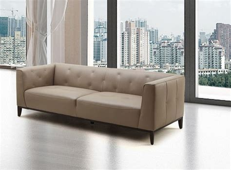 ultra contemporary unique design sofa in reach leather