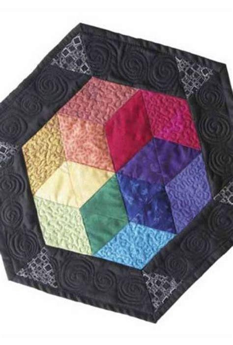 pattern ease joann hexagon color wheel free pattern easy quilt project