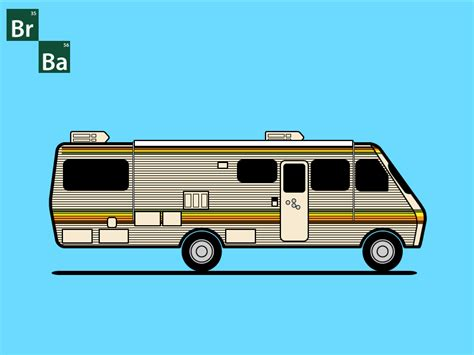 Rv In Breaking Bad vector breaking bad rv in illustrator
