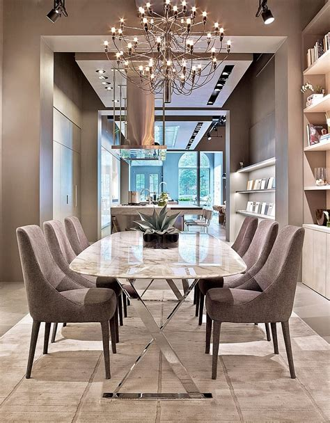 modern dining room ideas furniture dining room clear white chandelier for elegant
