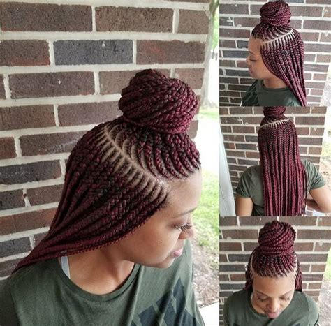 nice girl hairstyles cornrows twists remember this nice braids thebraid slayher black hair information