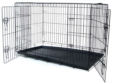 42 inch crate yml 42 inch 2 door heavy duty crate black 833775005570 united states
