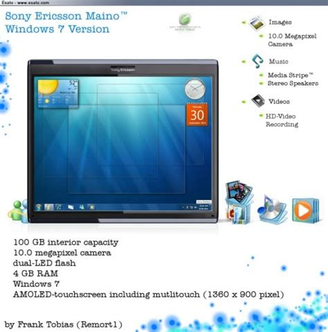 Tablet Sony Ericsson modern cell phone sony ericsson tablet images