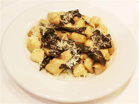 Handmade Gnocchi - menu a tavola