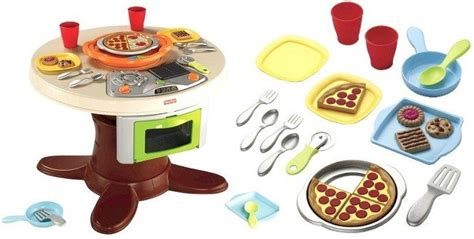 Fisher Price Servin Surprises Kitchen And Table Fisher Price Servin Surprises Cook N Serve Kitchen And Table Set