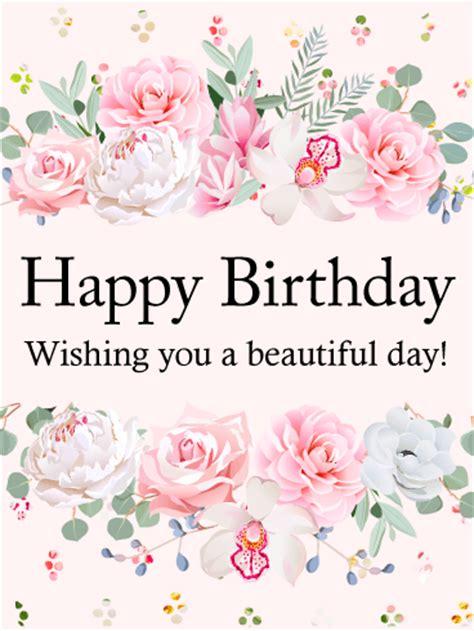 Beautiful Birthday Cards For Birthday Flower Cards Birthday Greeting Cards By Davia