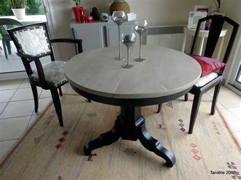 Relooker Une Table Ronde by La Vieille Table Ronde Relook 233 E Avec Un Peu De Fil
