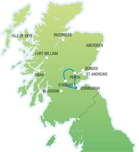 whisky distillery & the scottish highlands day tour