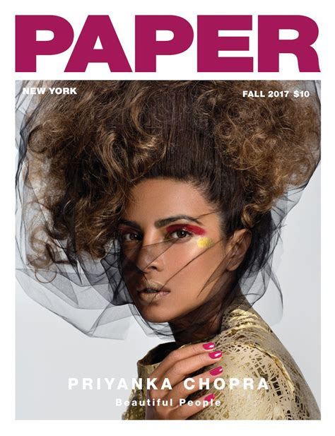 Paper From Magazines - priyanka chopra covers paper magazine s quot beautiful