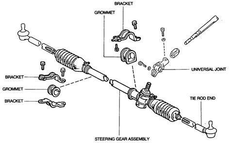 Rack End Tie Rod Corona Celica Corolla Twincam Sr2650 steering relocation toyota minis