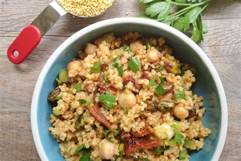 gallery for gt millet side dish recipes moroccan millet or quinoa salad with chickpeas what