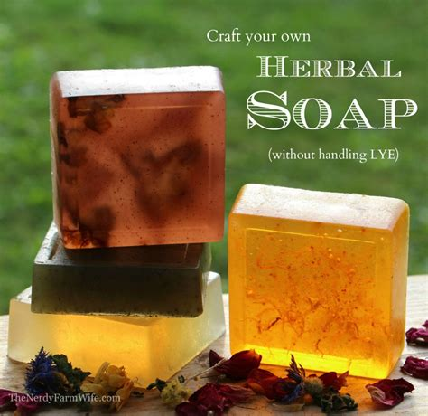 Handmade Soap Without Lye - 15 handmade gifts to your loving husband
