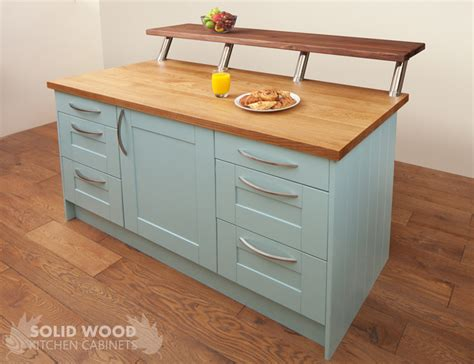 solid wood kitchen island how to create a kitchen island with solid oak kitchen