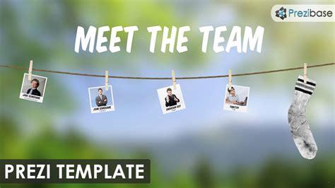 Business Prezi Templates Prezibase Team Meeting Presentation Template