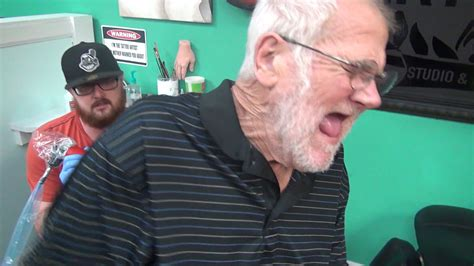 angry grandpa tattoo angry s meltdown