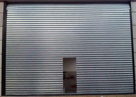 puertas acero galvanizado