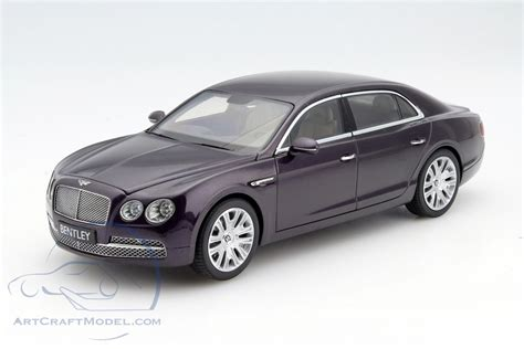 bentley metallic bentley flying spur damson w12 purple metallic bl1070