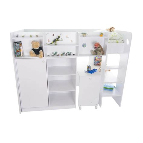 Wizard High Sleeper by Wizard High Sleeper Bed White Childrens Beds Fads