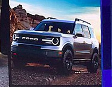 Pictures Of The 2020 Ford Bronco by Here Are The Leaked Images Of The 2020 Ford Bronco S